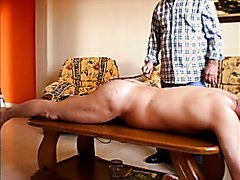 Caning on table