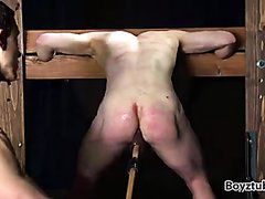 in the stocks part 2- impaled and more whipping