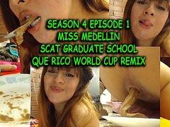 ArtsyPourn Presents: Miss Medellin - GRADUATE SCHOOL - SCAT session 5