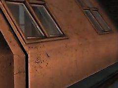 Piers Nivans fucks Chris Redfield - Resident Evil SFM