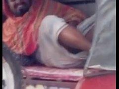 Indian Man Flashing His Dick