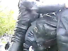 Leather bikers