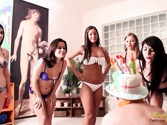 Slave's birthday spitting