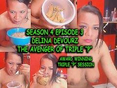 DELINA DEVOURZ in THE AVENGER of TRIPLE P - award winner by ArtsyPourn