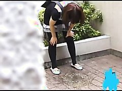 Various Japanese Girls Puke
