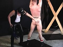 Leather Master Flogs Slave - Part 2