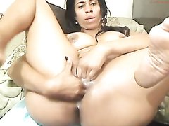 Latina MILF Anal Accident!