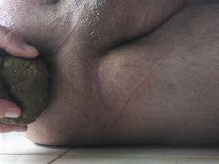 My scat on cock