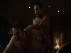 Jean Dujardin and Gilles Lellouche gay scene (Les Infideles)