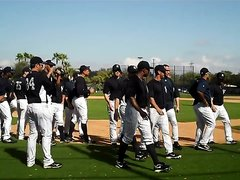 YANKEES PLAYERS HIGH SOCKS