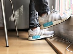 Adidas NMD and very smelly Puma socks!!!