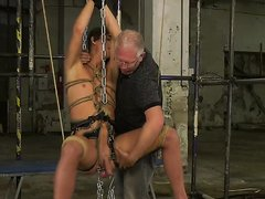 BALLS STRETCHED & COCK MILKED