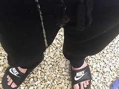 Sagging and Pissing in my Joggers and Nikes