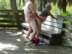 Always a good idea to visit the woods when the bears have mating season 2