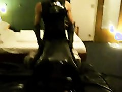 rubber fuck play