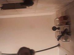 Guy pees ok camera again
