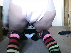 (repost) panda diaper mess and change