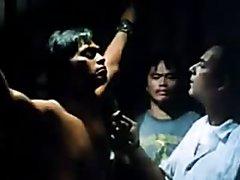 Asian hero torture scene
