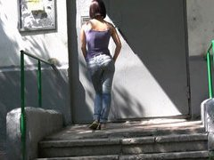 Teenage panty pisser exposes herself