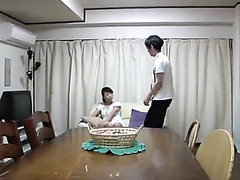 Japanese sluts drilled by a horny guy