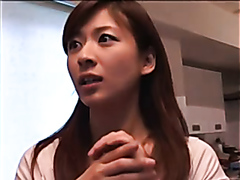 Busty Japanese girl drilled very hard