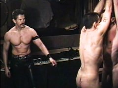 Leather Master Kidnaps and Tortures Two slaves-Part 2 (flog and whip)