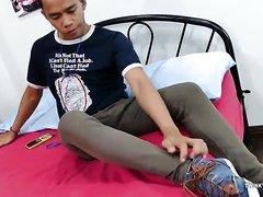 Asian Boy Foot Fetish Wank
