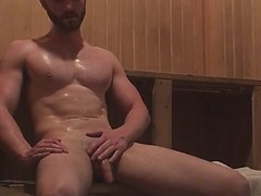 Frank in sauna 01