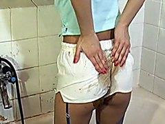 Messy Shorts Poop