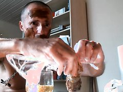 olibrius71 scat shit face, piss prty, cumshot