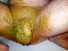 Dicksmear after pooping in shower