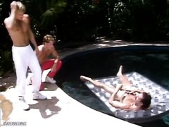 XXL Chad Poolside Three-Way