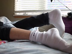 Humping in socks