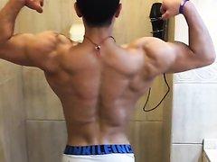 Muscular butt