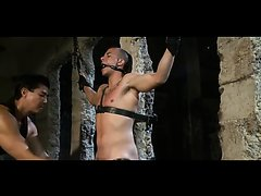 Master and muscle slave Eli-Part 1--flogging