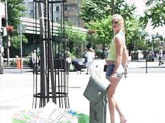 Blondie Public Flash & Pee 2