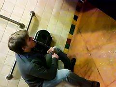 Twink Bro Pukes On Bathroom Floor