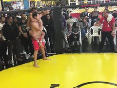 mma accidental dick slip