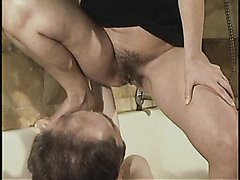 Women pissing in slaves mouth