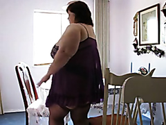 Fat mature wife licked and fingered