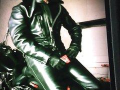 Leather bike smoke