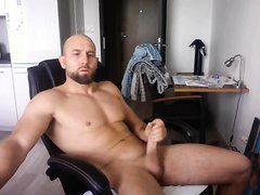 Hot dad camming for fans.