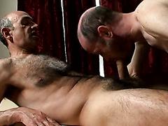 Hot daddy massage