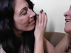 Mature lesbians eating some pussy
