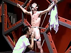 master sucking tied slave part 1 part 2 master becomes slave