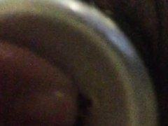 Big Clit Buttslut Stretches Holes