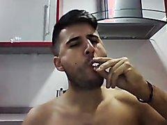smoking morning