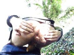 Shitting Outside - video 3
