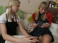 Cute Russian Lesbians