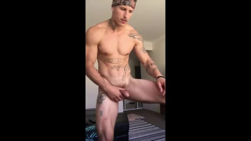 Hot Guy Jerking Off Dirty Talk